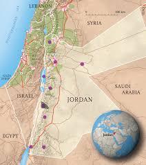 Lebanon Hills Map Kingdom Of Jordan Interactive Map