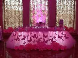 sweet 16 theme pink butterfly themed sweet 16 at the larkfield manor east