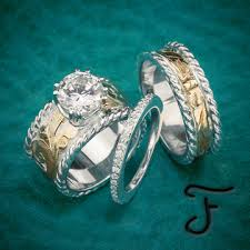 western wedding rings wedding sets western inspired handcrafted jewelry