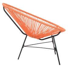Acapulco Outdoor Chair Charles Bentley Retro Single Lounge Chairs Buydirect4u