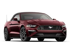 2018 ford mustang gt premium convertible sports car model