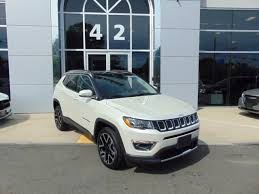 white jeep compass 2018 jeep compass limited in pearl white tri coat for sale in fall