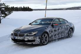 bmw m6 modified spy shots new 2013 bmw m6 gran coupe is on its way