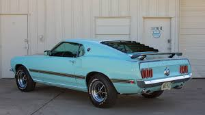Mustang Mach One 1969 Ford Mustang Mach 1 Fastback F237 Dallas 2016