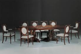 tavoli per sale da pranzo tavolo ovale intarsiato per sale da pranzo e sale riunione idfdesign