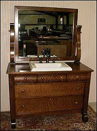 antique bathroom vanity empire style american antique dresser