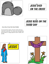 church house collection blog jesus rose from the dead mobile craft