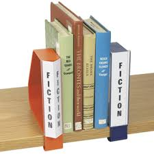 book supports u0026 bookends clip on plastic book supports with
