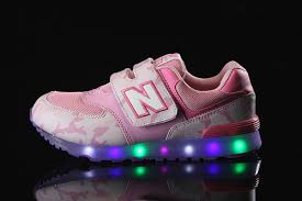 light up shoes for girls girls new balance cute pink led multicolored light up shoes jpg