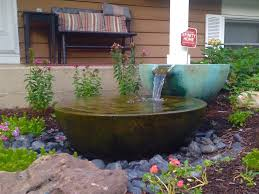 outdoor water features with lights patio ponds water feature installation maintenance repair