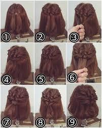 tutorial rambut tutorial model rambut pendek sedang dan panjang yang simple agar