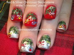 robin moses nail art nail art christmas nails christmas nail