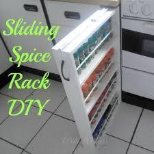 Diy Kitchen Cabinet Organizers by Best 25 Spice Racks Ideas On Pinterest Spice Racks For Cabinets