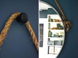 How To Hang A Bathroom Mirror by Diy Mirror