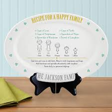 personalized family platters personalized family gifts family signs personal creations