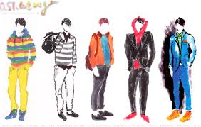menswear fashion illustrations by daniel st at coroflot com