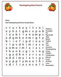thanksgiving printables for 4th graders happy thanksgiving
