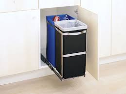 simplehuman in cabinet trash can simplehuman pull out and in cabinet trash cans and garbage bins