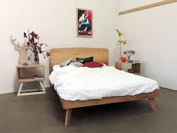 Scandinavian Bed Frames Made From Mixed Recycled Australian Hardwoods This Scandinavian