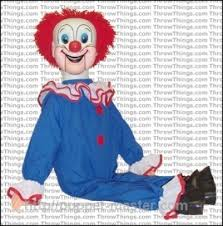 clown puppets for sale official bozo the clown ventriloquist dummy standard upgrade