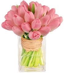 tulip bouquets pleasantly pink tulip bouquet in germantown md gene s florist