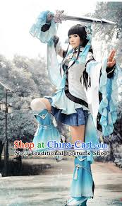 Halloween Costumes China Asia Fashion Chinese Fairy Cosplay Halloween Costumes Complete