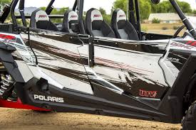 utv inc xp 4 1000 white lightening door graphics polaris rzr