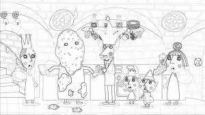 ben and holly coloring page creative drawing and coloring for kids