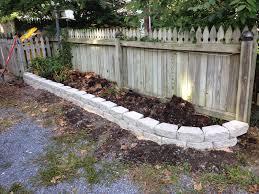 image result for stone flower bed borders back porch pinterest