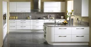 White Grey Kitchen White Kitchen Units Wood Worktop Wren Kitchens Sunshine Yellow