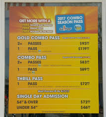 How Much Are Season Passes For Six Flags Sky Bar New This Year By Sky Screamer Yelp