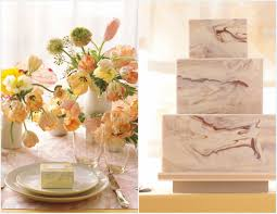 marble wedding decor inspiration