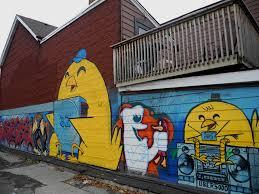 new graffiti mural by uber5000 on dennison avenue historic toronto new graffiti mural by uber5000 on dennison avenue