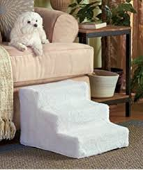 Dog Steps For High Beds Amazon Com Amzdeal Pet Steps Pet Stairs 3 Step Pet Ramp Dog