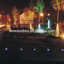 Color Changing Landscape Lights Color Changing Outdoor Lights Low Voltage Led Lights In Concrete