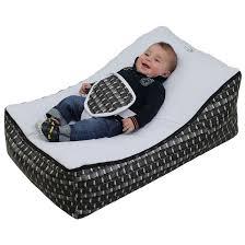 bébé é du canapé transat pouf bébé 2 assises 2 poches de rangements poignées de