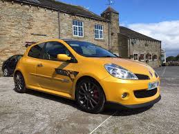 renault yellow renault clio 197 f1 liquid yellow championship winners factory