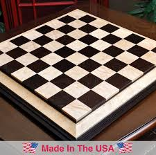 chess table signature contemporary iii luxury chess board african palisander