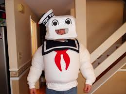 Stay Puft Marshmallow Man Costume Stay Puft Marshmallow Man Costume 3 Steps