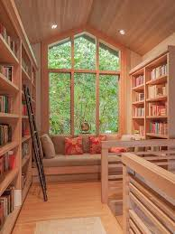 Best Home Offices Libraries  Bookshelves Images On Pinterest - Home office library design ideas