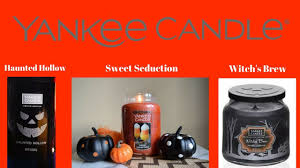 yankee candle 2017 halloween witch u0027s brew haunted hollow sweet