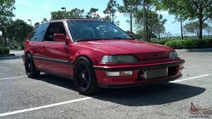 Honda Civic Si 1986 Honda Civic Si Hatchback 3 Door 1 6l Turbo Dohc Zc Jdm Civic Sir