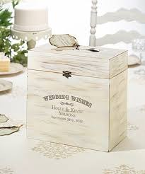 wedding wishes box lillian personalized wooden key card wedding wishes box
