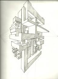Living Room Architecture Drawing 2 Point Perspective Drawing This Image Is A Two Point