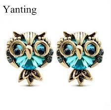 owl earrings aliexpress buy new arrival fashion vintage owl