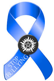 blue support ribbon stop bullying blue and black awareness ribbon logo blue and