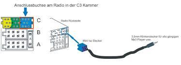 audi concert 2 aux input mini iso 8pin aux input lead car radio adapter for blaupunkt