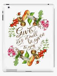 floral thanksgiving bible verse luke 6 38 thanksgiving gift
