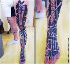 leg sleeve biomechanical design tattooshunt com