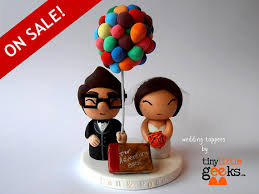 up cake topper wedding cake topper up cake topper carl and ellie